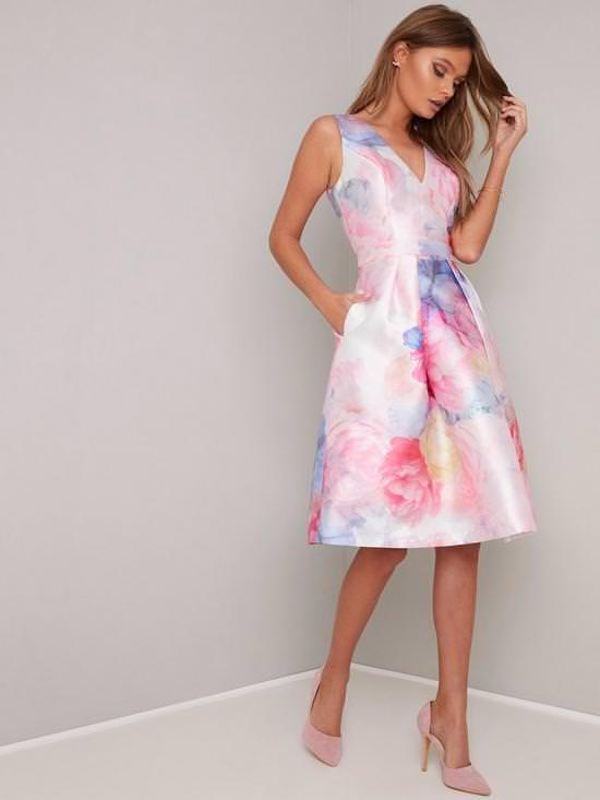 Ohanna V-Neck 2-in-1 Dress