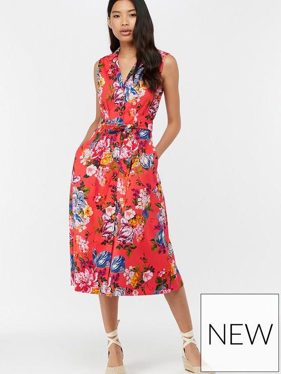 Sinead Print Midi Dress